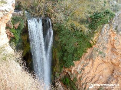 Parque Natural Monasterio de Piedra; senderos pr; sendero local;excursiones viajes y viajes